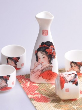 Japanese Sake Sets--Beauty