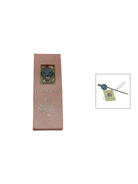 Peking Opera Mask Bookmark---Jade Emperor