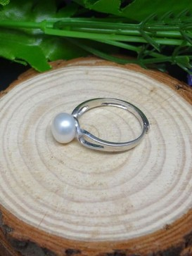 Simple Freshwater Pearl Ring