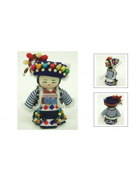 Delicate Handmade Chinese Ethnic Dolls/Pcs