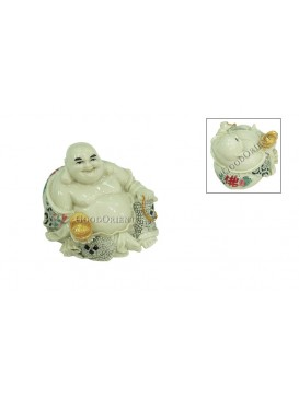 Ox Bone Powder Happy Buddha Decoration
