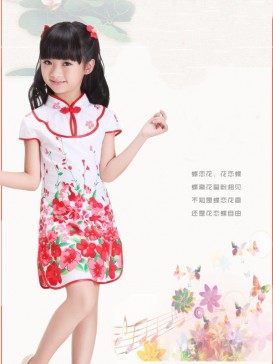 Love Of Butterfly Style Girl Dress