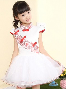 Exquisite Yarn Style Girl's Dress