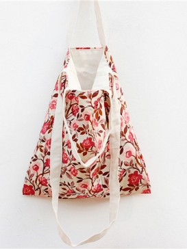 Original Blooming Floral Cloth Bag