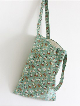 Charming Small Floral Cloth Bag