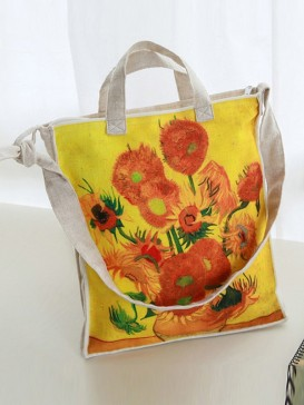 Van Gogh Sunflower Style Cloth Bag