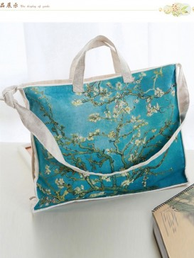 Fresh Plum Blooming Style Cloth Bag