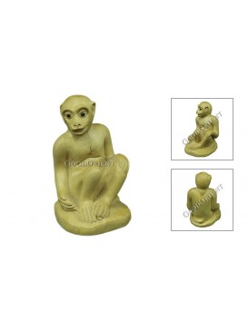 Natural Wooden Animal Decoration---Monkey