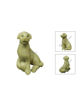 Natural Wooden Animal Decoration---Dog