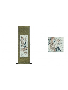 Traditional Chinese Hand Water-color Painting Scroll---Flying Dragon