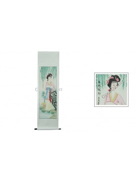 Traditional Chinese Hand Water-color Painting Scroll---Xi Shi