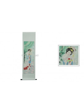Traditional Chinese Hand Water-color Painting Scroll---Yang Yuhuan