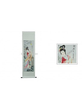 Traditional Chinese Hand Water-color Painting Scroll---Diao Chan