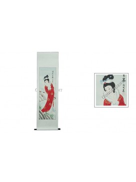 Traditional Chinese Hand Water-color Painting Scroll---Wang Zhaojun