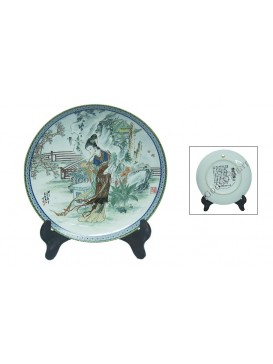 A Dream of Red Mansion Series Porcelain Decorative Plate---Lin Daiyu