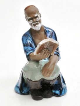 Chinese  Porcelain Figure Decoration--Old Man