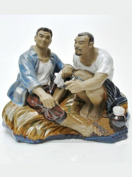 Chinese Porcelain Figure Decoration--Brother