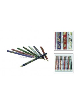 Chinese Floral Ball Pen