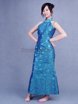 Shining Mermaid Thai Silk Dress