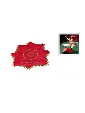 Chinese Playing Handkerchief---Red