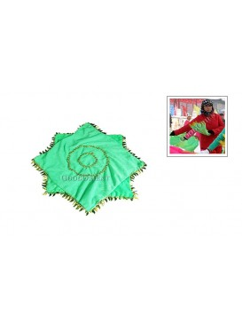 Chinese Playing Handkerchief---Green