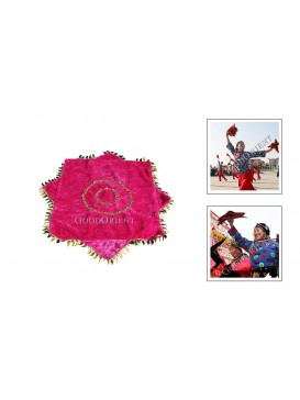 Chinese Playing Handkerchief---Pink