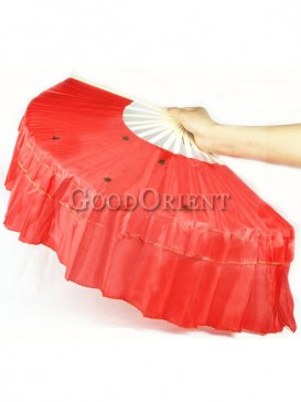Red Chinese Dancing Fan Set