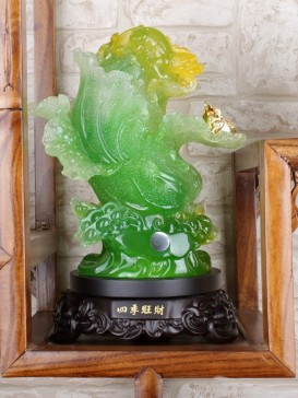 Delicate Auspicious Decoration Series--Cabbage