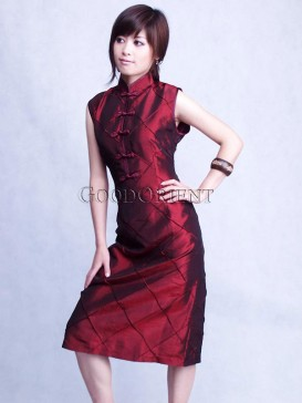 Dark Red Bouncing Dress