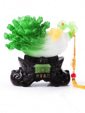 Oriental Auspicious Decoration Series--Cabbage