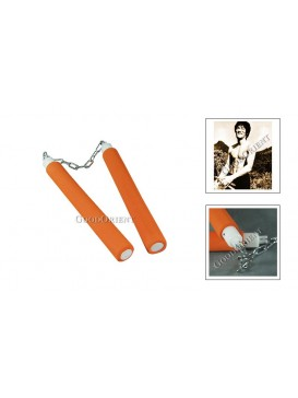 Orange Nunchakus