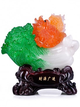 Perfect Auspicious Cabbage Decoration