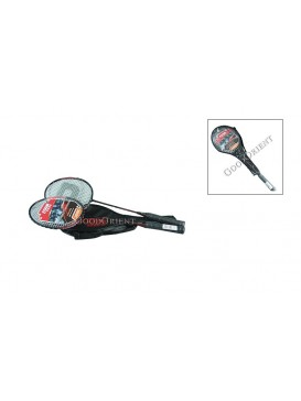 Double Happiness Badminton Rackets Set