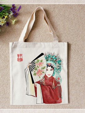 Delicate Hand Painting Style Bag--Yang Guifei