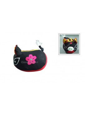 Handicraft Piggy Patchwork Toy---Black