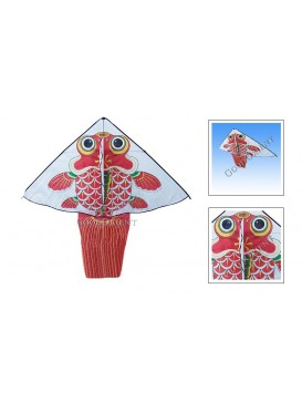 Chinese Triangle Golden Fish Kite