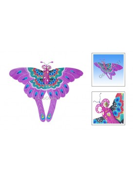 Big Lavender Butterfly Kite