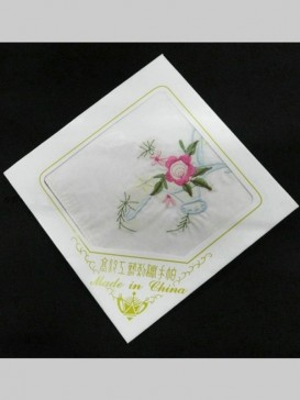 Beautiful Embroidery Handkerchief Series--Morning Glory