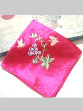 Exquisite Embroidery Handkerchief Series--Butterfly
