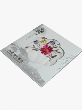 Chinese Embroidery Handkerchief Series--Chrysanthemum