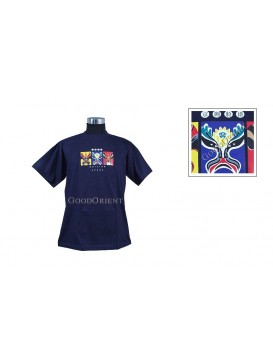 Colorful Peking Opera Mask T-shirt