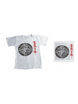 Cotton Kid T-shirt---Lucky Dragon and Phoenix