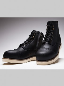 Classical Black Color Men Martin Boots