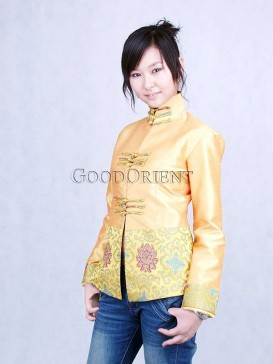 Marigold Thai Silk Jacket