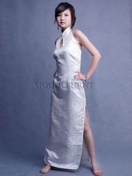 Chinese Sincere White Cheongsam
