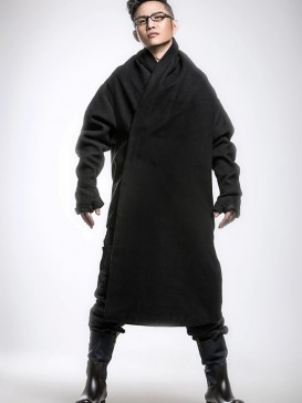 VogueHan Fu Style Men's Long Gown