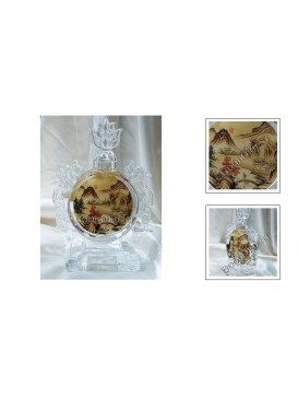 Scenery Crystal Snuff Bottle Decoration