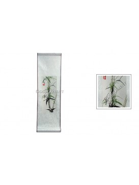 Traditional Chinese Hand Water-color Painting Scroll---Bamboo