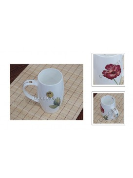Poppy Bone China Beer Mug