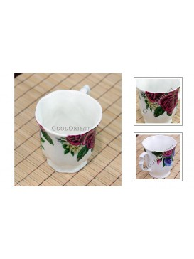 Rose Bone China Milk Mug